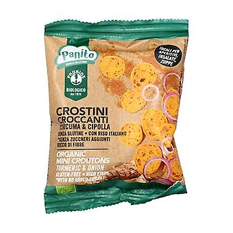 Crispy Turmeric and Onion Crustones Panito 40 g
