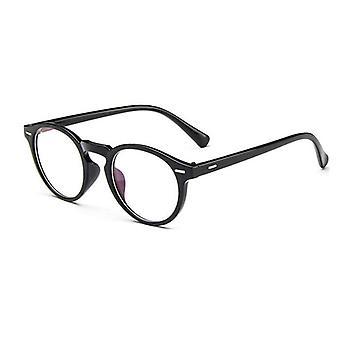 Vintage Retro, Rundrahmen Brille, Brille und Frauen