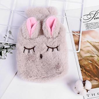 Iarna Cartoon Rabbit Pvc Stres Durere Relief Terapie Hot Water Bag