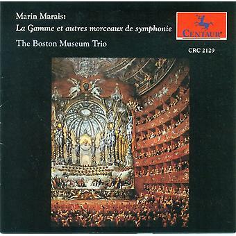 Marin Marais - Marin Marais: La Gamme Et Autres Morceaux De Symphonie [CD] USA import