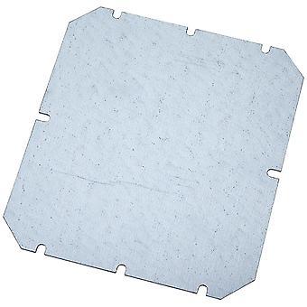 Fibox MP2016 Metal Mounting Plate 155 x 140mm
