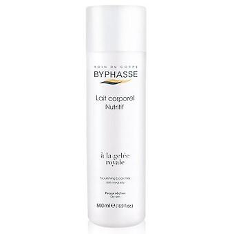 Byphasse Body Milk for dry skin Royal Jelly Bottle 500 ml