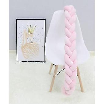 Baby Crib Protector Braid Knot Pillow (100/200/300cm)