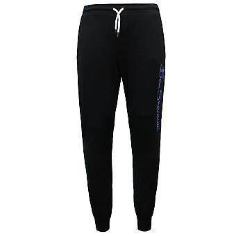 Ben Sherman Mens Track Pants Louge Joggers Bottoms Black 0060890 BLK
