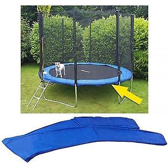 Pokrowiec na trampolinę - średnica 244 cm - niebieski