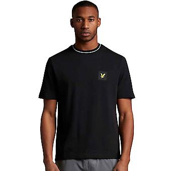 Lyle & Scott Casuals Tipped T-Shirt - Jet Black