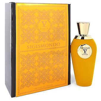 Sigismondo V Extrait De Parfum Spray (Unisex) By Canto 3.38 oz Extrait De Parfum Spray