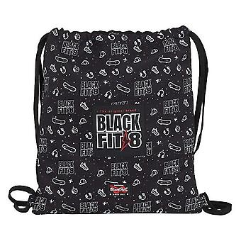 Backpack with strings blackfit8 sport galaxy black