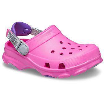 Crocs Girls Classic All Terrain Adjustable Clogs