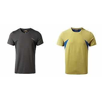 Craghoppers Herren Fusion technische Kurzarm T-Shirt