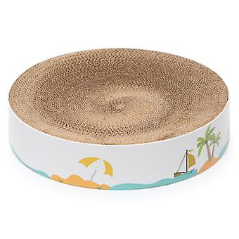 Cat Scratching Pads For Durable Scratching Pad Cat Toy Protect Furniture Pet Toy Round Cardboard