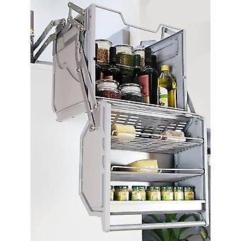 Basket For Hanging Wall Case Double-body Storage Refrigerator Top Cabinet