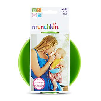 Munchkin Multi Bowls 4Pk