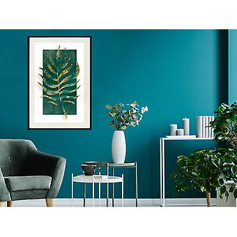 Juliste - Kullattu Palm Leaf-40x60