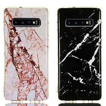 Samsung Galaxy S10 - Shell / Schutz / Marmor