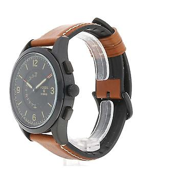 Fossil Analog quartz men's watch with leather FTW1206