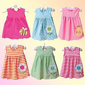 Новые модные детские платья