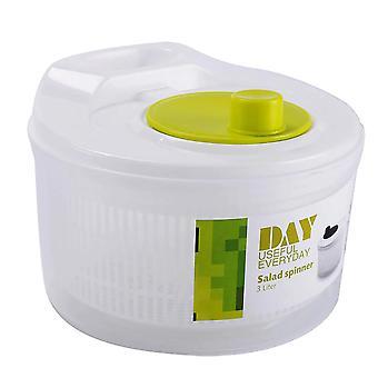 Ensalada spinner lechuga verdes lavadora secadora drenaje