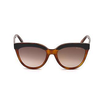 Emilio Pucci - Accessories - Sunglasses - EP0085-05F - Women - sienna