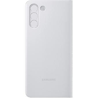 FengChun Clear View Cover EF-ZG996 für Galaxy S21+ 5G, hellgrau