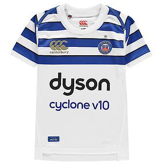 Canterbury Kid Bath Rugby Jersey Childrens Replica Short Sleeve T-Shirt Tee Crew