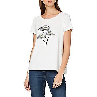 Paragraph 81.002.32.3579 T-Shirt, Multicolore (01e0 Placed Print 01e0), 46 (One Size: 40) Woman