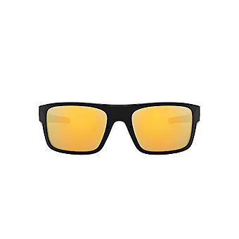 OAKLEY Drop Point 936705, Miesten aurinkolasit, Musta (Kiillotettu Musta/Blackiridium), 61