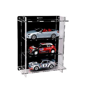 Flervånings 3 bil display fodral