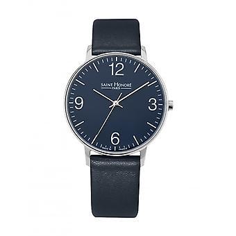 Men's Watch 8220121DB - Blue Leather