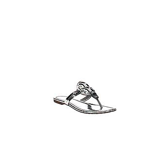 Tory Burch | Miller Lederen Gespiegelde String Sandalen