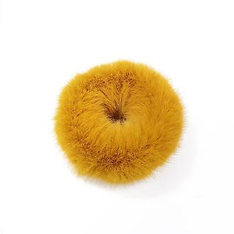 myk fuskepels varm elastisk hårbånd
