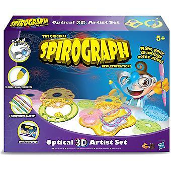 The Original Spirograph New Generation Spirograph Optical 3D Artist Set