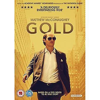 Gold (2017) DVD