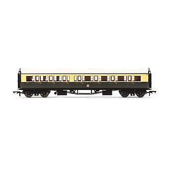 """Hornby GWR Collett """"Bow Ended"""" Korridor Composite (R/H) 6527 Era 3 Modelltåg"""
