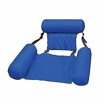مقعد تجمع كرسي نفخ كسول المياه سرير صالة كرسي لعبة(الأزرق)