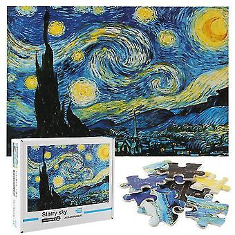 Puzzle dla dorosłych,1000 Kawałek Gwiaździste niebo Jigsaw Wyzwanie Gra logiczna