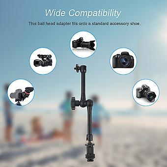 """Durable 11"""" Magic Arm Gymbal Stand Adjustable Arm For Monitor Led Lights"""