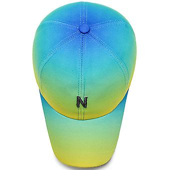 Women's casual outdoor gradient color baseball cap
