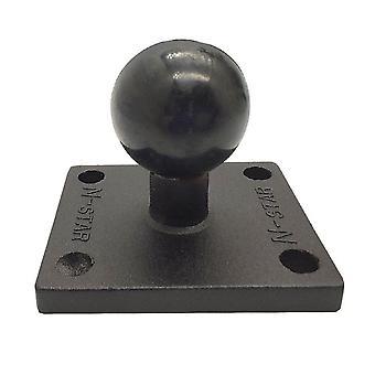 Alumínium négyzet alakú tartóalap golyófejjel