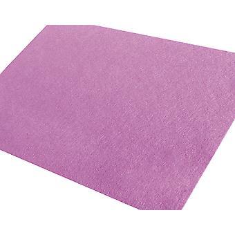 Grote A3 Lilac Verstijfde Viltblad voor Ambachten