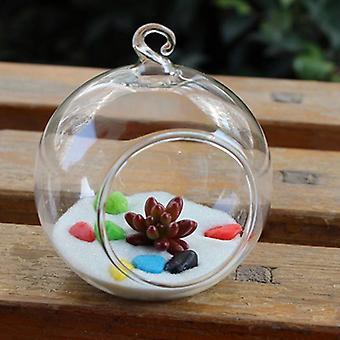 Flower Hanging Ball Vase Planter Pojemnik Terrarium Szkło borokrzemianowe
