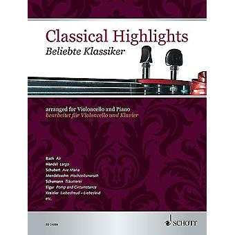 Classical Highlights Cello And Piano