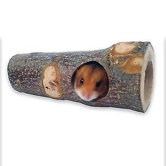 Træ træhul hamster legetøj guldbjørn tunnel egern sukker svævefly kæledyr spille molar legetøj