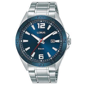 Lorus RH913NX9 Herren Sportarmband Uhr mit gebürstetem & poliertem Finish Gehäuse