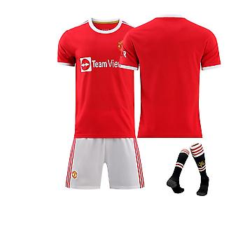 Cristiano Ronaldo Manchester United Jersey, Jersey Home Court(family Outfit)