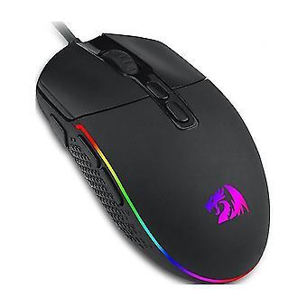 Vysoce kvalitní módní usb herní myš (černá)