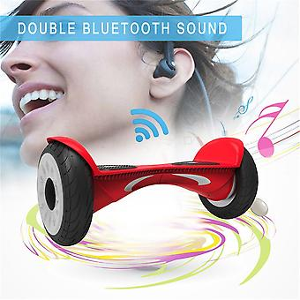 10,5 tuuman X1 Hoverboard Electric Kaksipyöräinen skootteri Kaksinkertainen Bluetooth-kaiuttimet