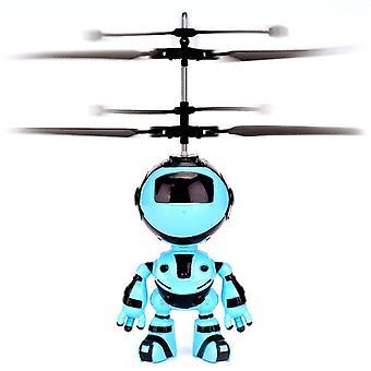 5,7 Zoll / 14,5 cm Kinder Kreative Spielzeug Infrarot Induktion Roboter Spielzeug Flugzeit 15 Minuten Aufhängung Flugzeug Spielzeug mit wiederaufladbarem Geschenk für Kinder Jungen Mädchen Ind