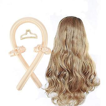 Heatless Curling Rod Headband No Heat Curls Ribbon Hair Rollers Sleeping Soft Headband Hair Curlers Diy Hair Styling Tools