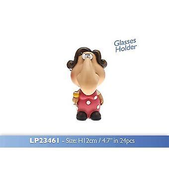 Vin Amant Specs Keeper Lunettes Titulaire Figurine en résine